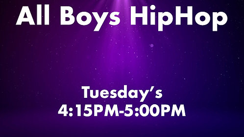 All Boys HipHop