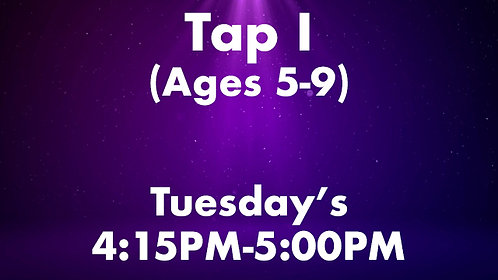 Tap I (Ages 5-9)