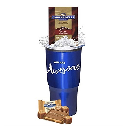 No Minimum - You Are Awesome Cocoa & Chocolate Tumbler