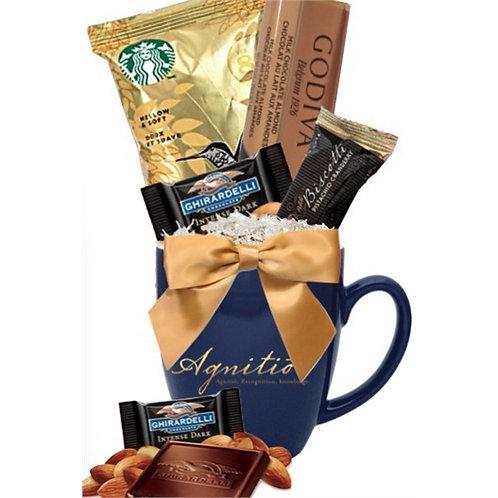 Starbucks Coffee, Godiva and Ghirardelli Gift Mug