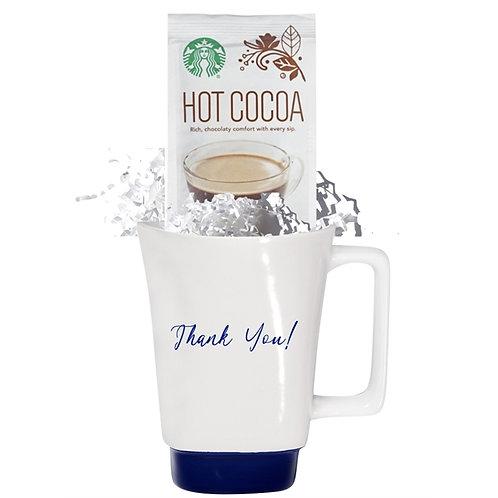 Stoneware 16 oz Mug with Starbucks Cocoa
