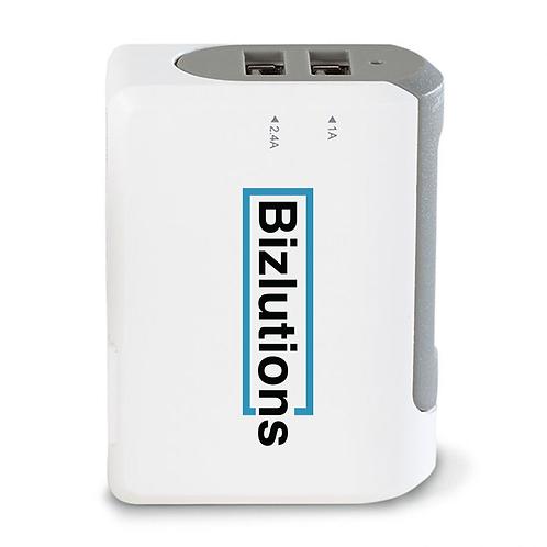 Brookstone® Optima Dual USB Wall Charger