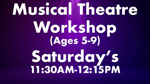Musical Theatre Workshop (Ages 5-9)