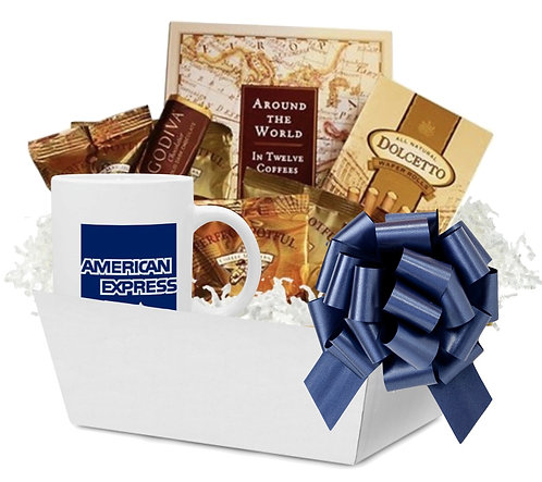 World of Coffee Gift Basket