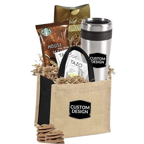 Tumbler, Starbucks Coffee,Tea and Cookie Gift Tote