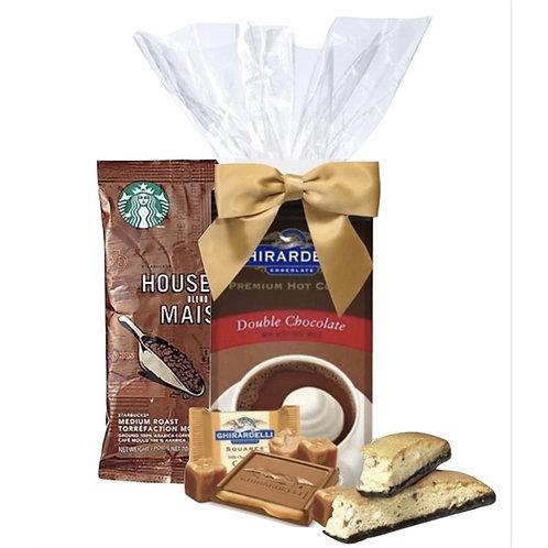 Starbucks Coffee, Cocoa & Chocolate Snack Kit