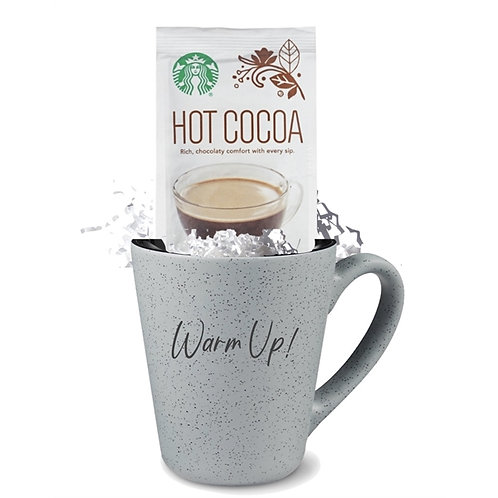 16 oz Speckled Mug with Starbucks Cocoa