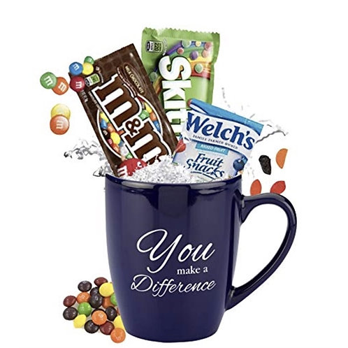 No Minimum - You Make a Difference Candy Mug