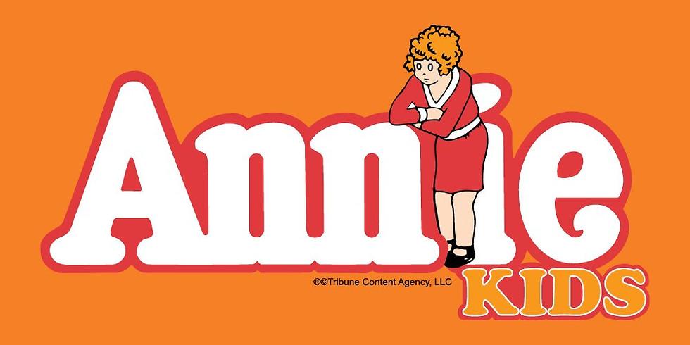Annie Kids IN-PERSON 3/7