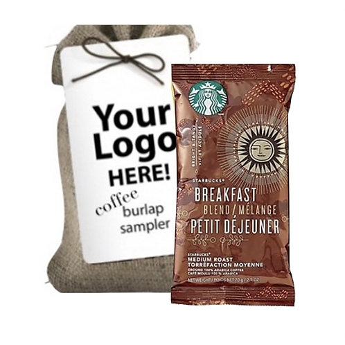 Starbucks Coffee Pack in Jute Bag