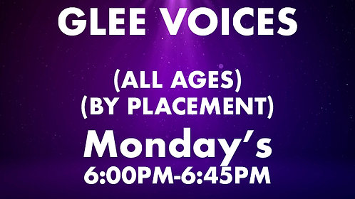 Glee Voices (All Ages) (by placement)