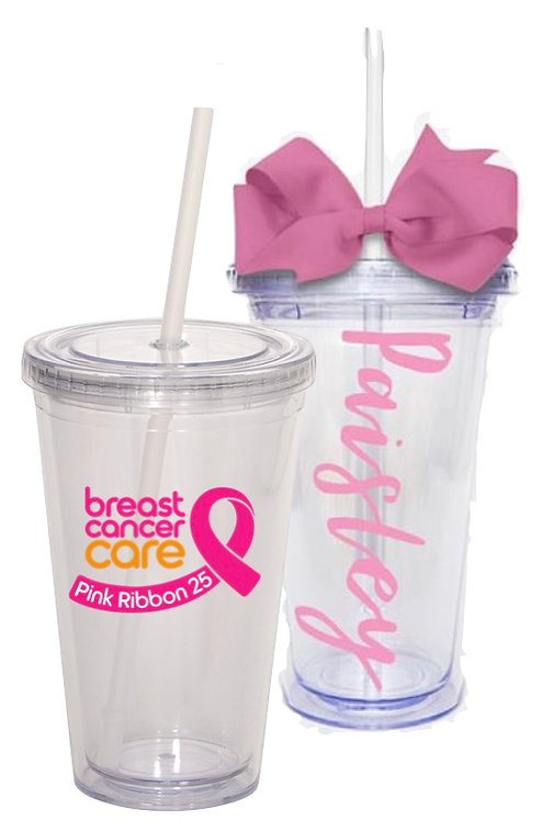 Personalized Tumbler with Logo and Name