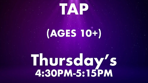 Tap (Ages 10+)
