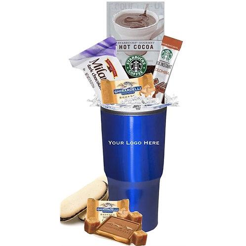 Decadent Starbucks Cocoa & Snack Tumbler