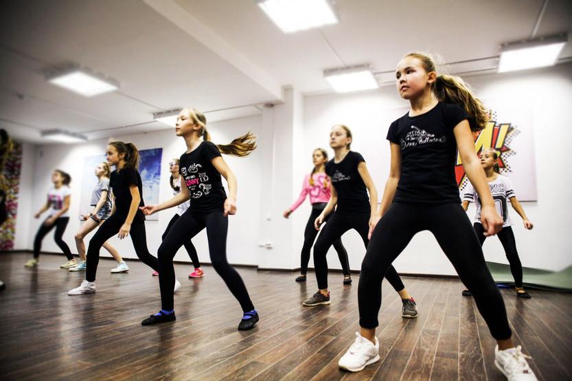 обучение танцам - танцы для девочек в Но