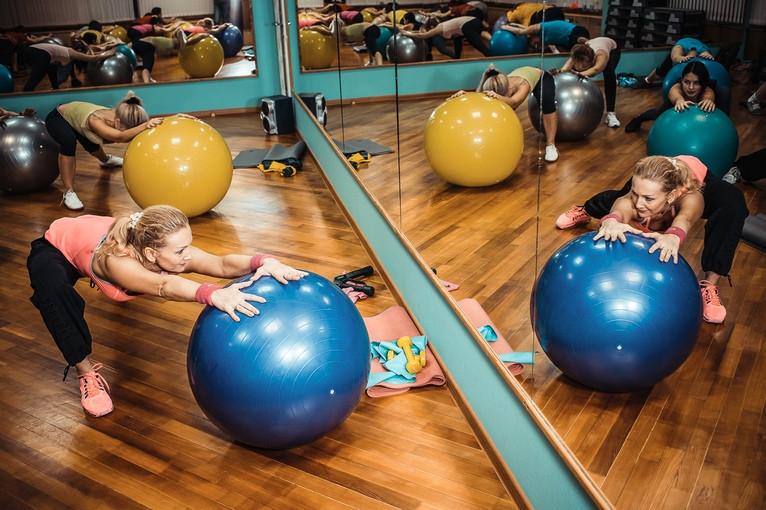 фитнес для женщин в Новороссийске, трени
