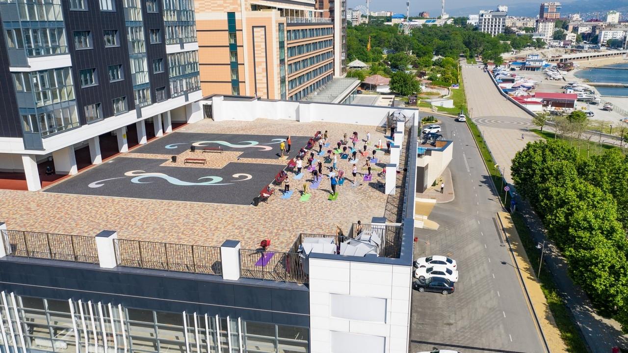 занятия йогой в Новороссийске, клуб йоги