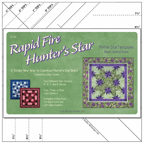 Rapid Fire Hunter's Star Petit from Deb Tucker Studio 180 Designs