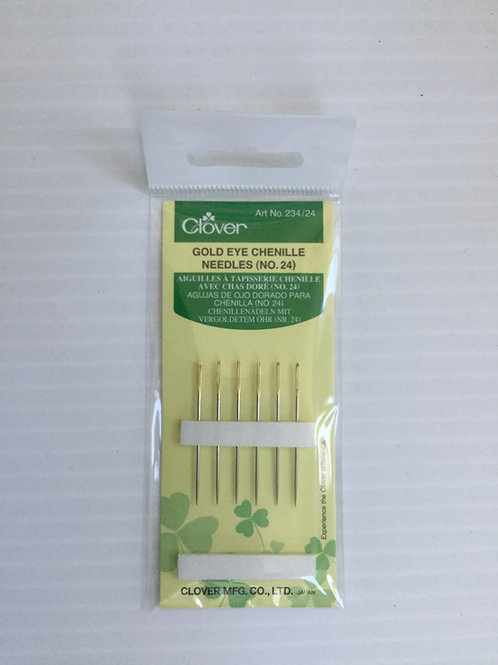Chenille needle size 24
