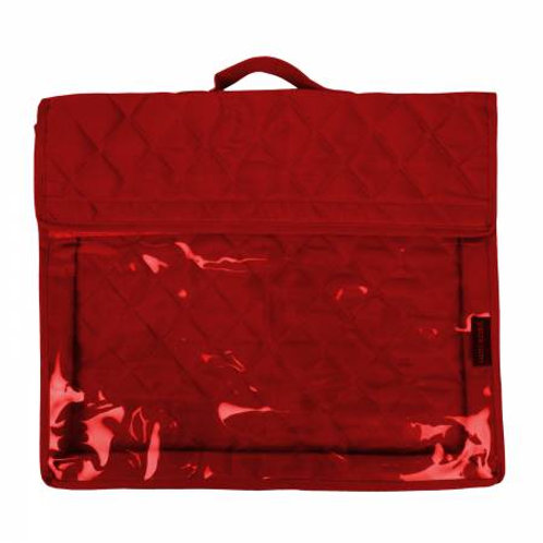 Yazzii Craft Project Folder Red