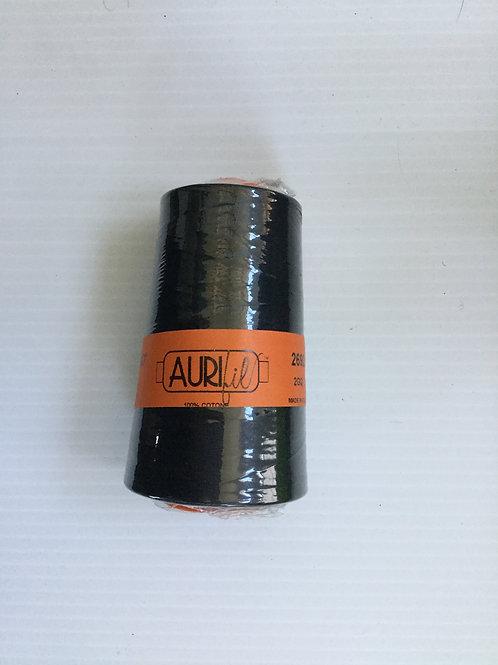 Aurifil  #2692 Black cone thread