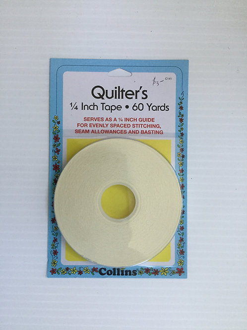 "Quilter's 1/4""x60 yards tape"