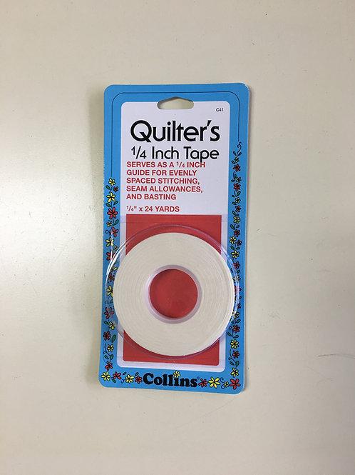 """Quilter's 1/4"""" x 24 yardsTape"""