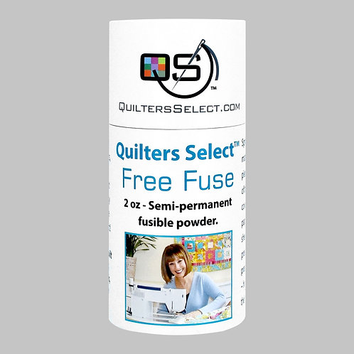 Quilters Select Free Fuse 2 oz. Semi-permanent fusible powder