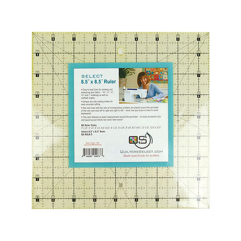 """Quilters Select 8.5"""" x 8.5"""" ruler"""