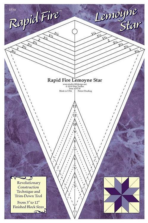 Rapid Fire Lemoyne Star by Deb Tucker's Studio 180 Designs