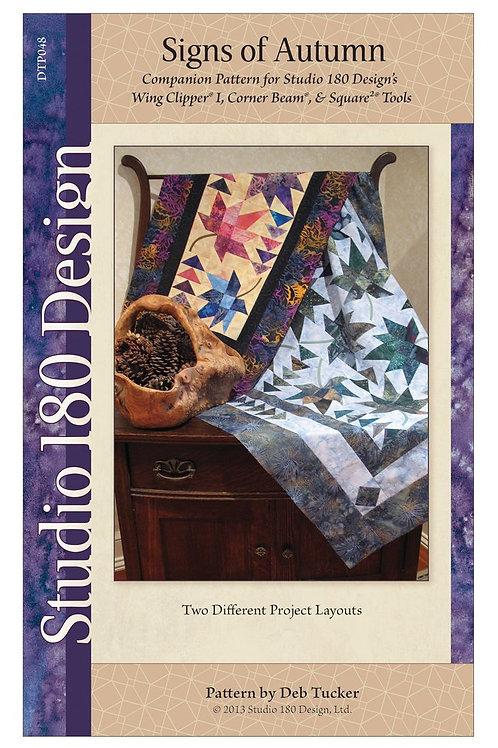 Signs of Autumn a pattern by Deb Tucker of Studio 180 Designs