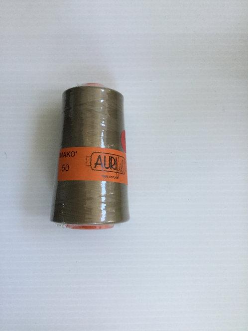 Aurifil thread #2370 Sandstone in cone size