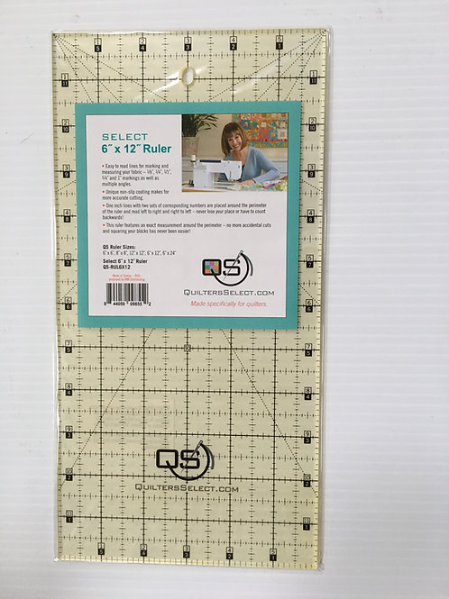 "Quilters Select 6"" x 12"" Ruler - You're going to LOVE this ruler!"