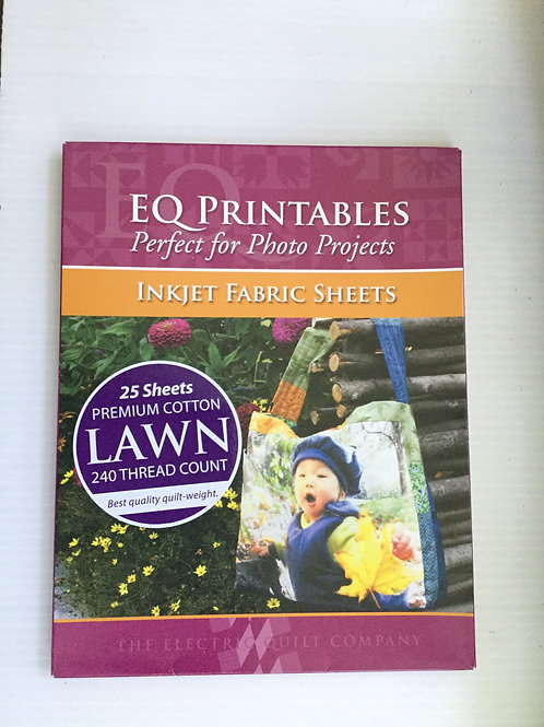 EQ Printables Perfect for Photo Projects Inject Faric Sheets