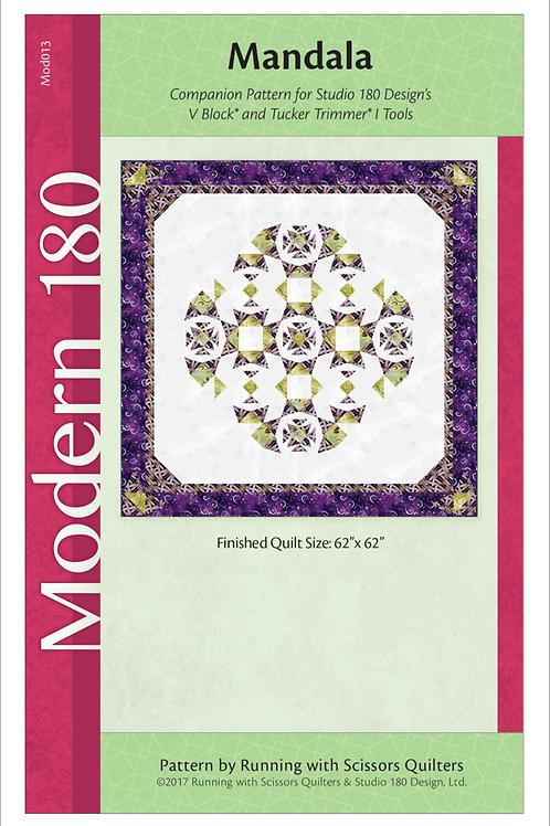 Mandala a pattern from Deb Tucker of Studio 180 Designs
