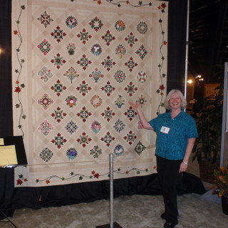 Friendship's Gathering, a king sized quilt