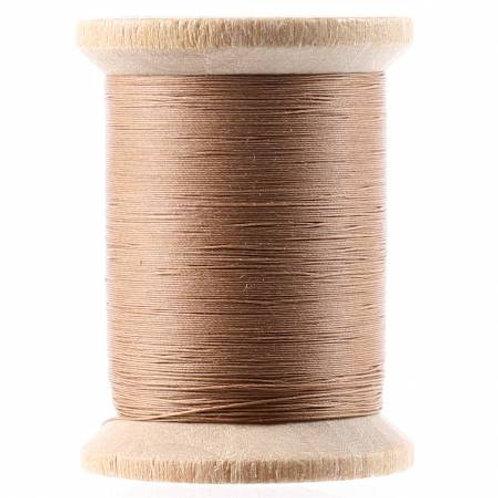 211-04-003 YLI Light Brown Glazed cotton hand quilting thread