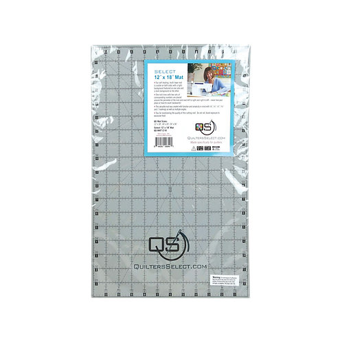 """Quilters Select 12"""" x 18"""" cutting mat"""