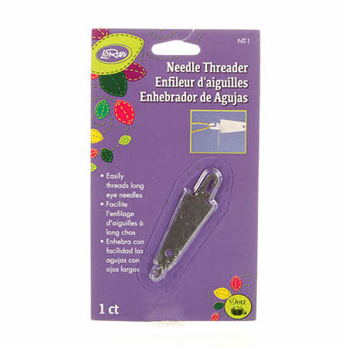 Needle Threader for large or long eye needles