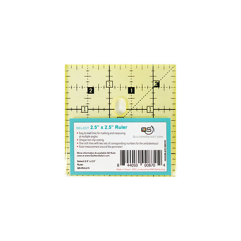 """Quilters Select 2.5"""" x 2.5"""" Ruler"""