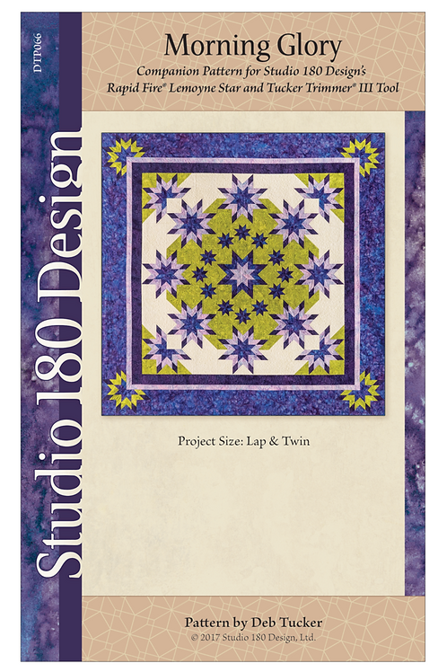 Morning Glory pattern from Deb Tucker of Studio 180 Designs