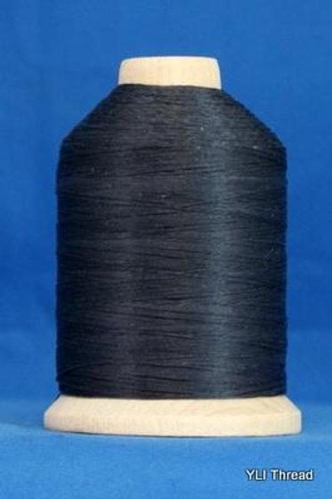 Black Glazed Hand Quilting Thread 1000 yards