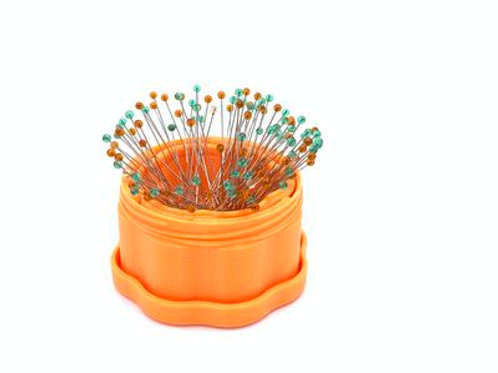 Magnetic Pin Cup Orange