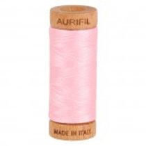 Aurifil 80 weight 2423 Baby Pink