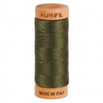 Aurifil 80 weight 5012 Dark Green