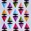 Thumbnail: Pyramid Power by Running with Scissors QuiltersDebTucker of Studio 180 Designs