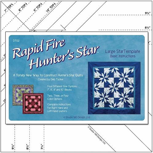 Rapid Fire Hunter's Star Large from Deb Tucker Studio 180Designs