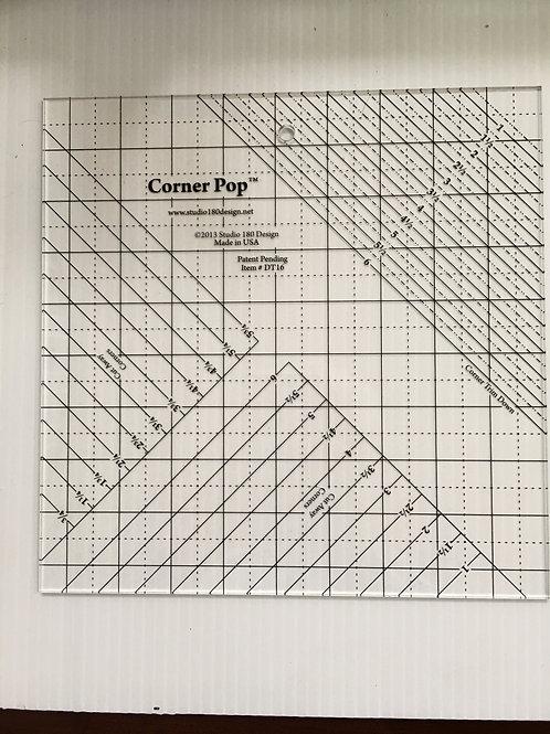 Corner Pop ruler by Deb Tucker for Studio 180 Designs