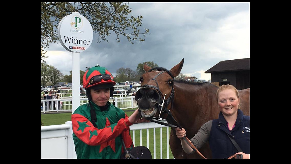 Wonga Swinger after his win
