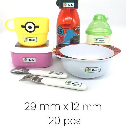Personalized Labels 120pcs